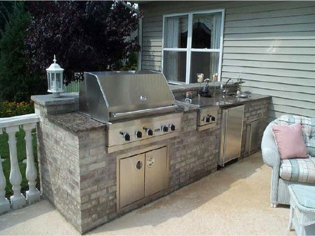 Personal Touch Landscape - Outdoor Kitchens 04